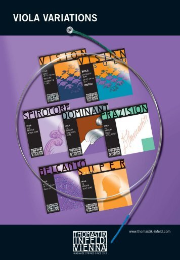 viola variations - Thomastik