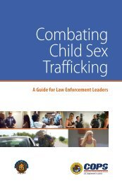 Combating Child Sex Trafficking