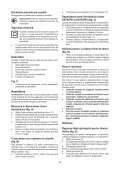 BlackandDecker Scie Sauteuse- Ks700pe - Type 1 - Instruction Manual (Roumanie) - Page 5