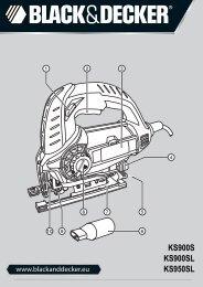 BlackandDecker Scie Sauteuse- Ks900s(K) - Type 1 - Instruction Manual (Européen)