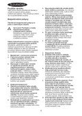 BlackandDecker Scie Egoine- Rs1050e(K) - Type 1 - Instruction Manual (Slovaque) - Page 4