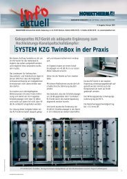 SYSTEM KZG TwinBox in der Praxis - HOWATHERM