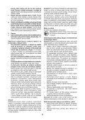 BlackandDecker Kit Outil- Bdet700 - Type 1 - Instruction Manual (Tchèque) - Page 6