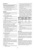 BlackandDecker Tournevis- Kc460ln - Type H1 - Instruction Manual (Roumanie) - Page 6