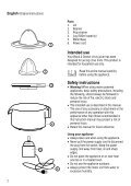 BlackandDecker Presse Fruits- Cj500 - Type 1 - Instruction Manual (Anglaise - Italienne - Grecs) - Page 2