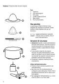 BlackandDecker Presse Fruits- Cj500 - Type 1 - Instruction Manual (Anglaise - Italienne - Grecs) - Page 6