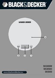 BlackandDecker Escabeau De Cuisine- Sk3050 - Type 1 - Instruction Manual (Anglaise - Italienne - Grecs)