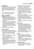 BlackandDecker Mixeur- Bl300 - Type 1 - Instruction Manual (Européen) - Page 3