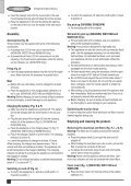 BlackandDecker Wet N'dry Vac- Wd9610 - Type H1 - Instruction Manual (Européen) - Page 6
