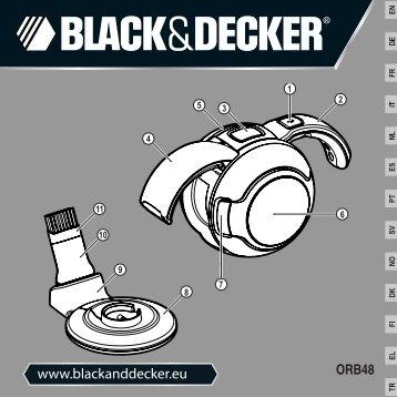 BlackandDecker Mini Vac- Orb48 - Type H1 - Instruction Manual (Européen)