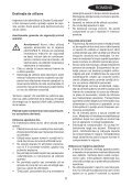 BlackandDecker Aspirateur Port S/f- Pv1805 - Type H2 - Instruction Manual (Roumanie) - Page 5