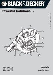 BlackandDecker Aspirateur Port S/f- Pd1080 - Type H2 - Instruction Manual (Australie Nouvelle-Zélande)