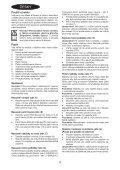 BlackandDecker Balai Laveur Vapeur- Fsm1630bl - Type 1 - Instruction Manual (Tchèque) - Page 4