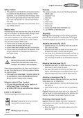BlackandDecker Balai Laveur Vapeur- Fsm1600 - Type 1 - 2 - Instruction Manual (Européen) - Page 5