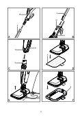 BlackandDecker Balai Laveur Vapeur- Fsm1600 - Type 1 - 2 - Instruction Manual (Roumanie) - Page 2