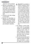 BlackandDecker Balai Laveur Vapeur- Fsm1620 - Type 1 - Instruction Manual (Balkans) - Page 6