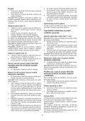 BlackandDecker Aspirateur Port S/f- Nv3620n - Type H1 - Instruction Manual (Tchèque) - Page 7