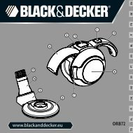 BlackandDecker Mini Vac- Orb72 - Type H1 - Instruction Manual (Européen)