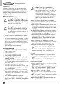 BlackandDecker Balai Laveur Vapeur- Fsm1500 - Type 1 - 2 - Instruction Manual (Européen) - Page 4
