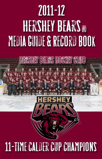 hershey bears training staff