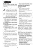 BlackandDecker Aspirateur Port S/f- Dv9610an - Type H1 - Instruction Manual (Slovaque) - Page 4