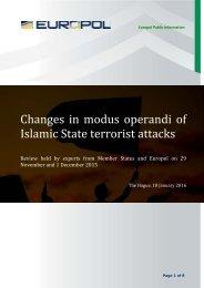 Islamic State terrorist attacks