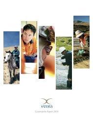 Sustainability Report 2009 - Xstrata
