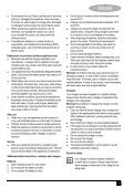 BlackandDecker Aspirateur Port S/f- Pv1205 - Type H2 - Instruction Manual (Européen) - Page 7