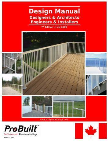 Versarail Aluminum Railing Installation Instructions