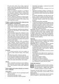 BlackandDecker Aspirateur Port S/f- Pv9605 - Type H1 - Instruction Manual (Slovaque) - Page 6