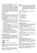 BlackandDecker Wet N'dry Vac- Wd6015n - Type H2 - Instruction Manual (Tchèque) - Page 6