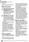 BlackandDecker Aspirateur Port S/f- Dv9610nf - Type H1 - Instruction Manual (Européen) - Page 4