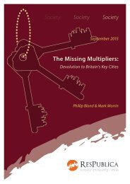 The Missing Multipliers