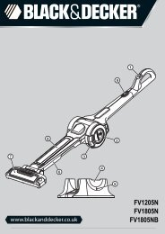 BlackandDecker Aspirateur Sans Fil- Fv1205n - Type H2 - Instruction Manual (Anglaise)