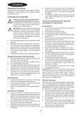 BlackandDecker Aspirateur Port S/f- Dv7210el - Type H1 - Instruction Manual (Roumanie) - Page 4