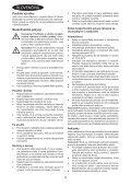 BlackandDecker Aspirateur Port S/f- Dv7210el - Type H1 - Instruction Manual (Slovaque) - Page 4