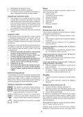 BlackandDecker Aspirateur Port S/f- Dv7210el - Type H1 - Instruction Manual (Slovaque) - Page 5