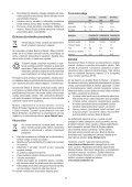 BlackandDecker Aspirateur Port S/f- Dv7210el - Type H1 - Instruction Manual (Slovaque) - Page 7