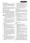 BlackandDecker Wet N'dry Vac- Nw3620n - Type H1 - Instruction Manual (Tchèque) - Page 5
