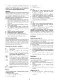 BlackandDecker Wet N'dry Vac- Nw3620n - Type H1 - Instruction Manual (Tchèque) - Page 6