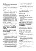 BlackandDecker Wet N'dry Vac- Nw3620n - Type H1 - Instruction Manual (Tchèque) - Page 7