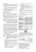 BlackandDecker Aspirateur Port S/f- Dv7205 - Type H1 - Instruction Manual (la Hongrie) - Page 7