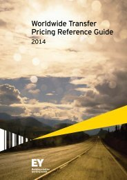 Worldwide transfer pricing reference guide 2014