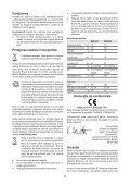 BlackandDecker Spot- Bdsl302 - Type 1 - Instruction Manual (Roumanie) - Page 5