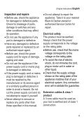 BlackandDecker Grille Pain- T700 - Type 1 - Instruction Manual (Européen) - Page 5