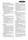 BlackandDecker Souffleur- Gw2610v - Type 2 - Instruction Manual (la Hongrie) - Page 5