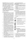 BlackandDecker Souffleur- Gw2610v - Type 2 - Instruction Manual (la Hongrie) - Page 6