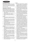 BlackandDecker Rateau De Tondeuse- Gd300x - Type 1 - Instruction Manual (Roumanie) - Page 4