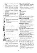 BlackandDecker Rateau De Tondeuse- Gd300x - Type 1 - Instruction Manual (Slovaque) - Page 5