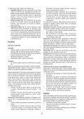 BlackandDecker Rateau De Tondeuse- Gd300x - Type 1 - Instruction Manual (Slovaque) - Page 6